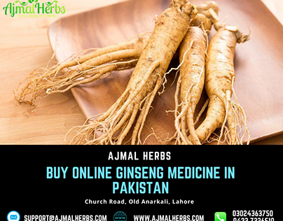Buy online ginseng herbal products in pakistan