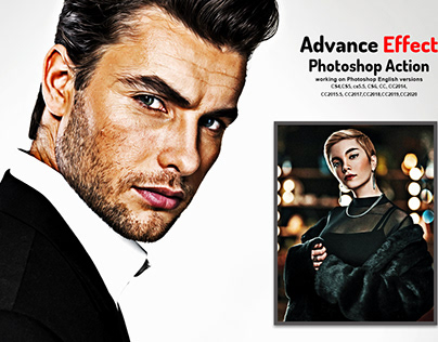 Advance Effect Photoshop Action