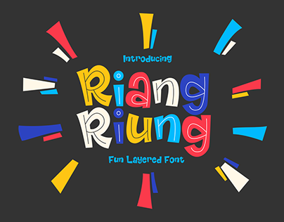 Riangriung - FREE DISPLAY FONT