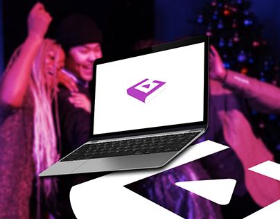 Virtual Video Guestbook | Logo Design