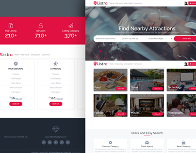 Listro - Business Directory Template