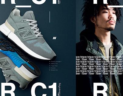New Balance / Tokyo Design Studio: Brand Identity