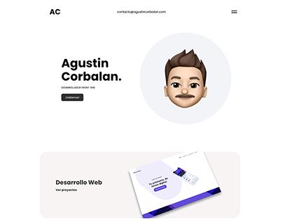 Diseño Portfolio Web Personal