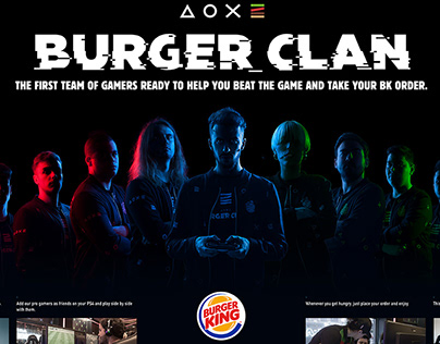Burger King / Burger Clan / Digital Activation
