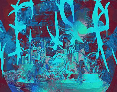 AESPA GOES METAL (ALBUM COVER DESIGN)