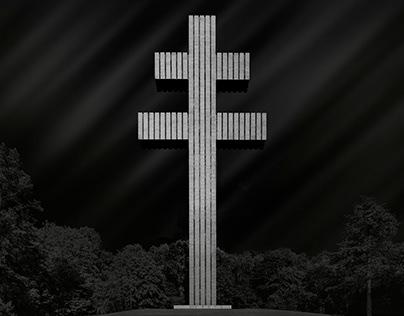 Croix de Lorraine - Mémorial Charles de Gaulle