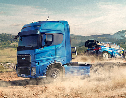 FORD TRUCKS WRC