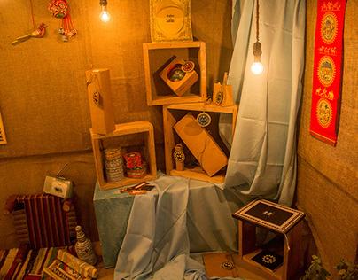 Craft cluster initiative (Pattachitra): Display