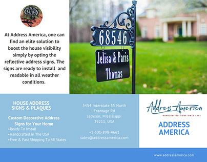 Decorative Address Signs For Home from mir-s3-cdn-cf.behance.net