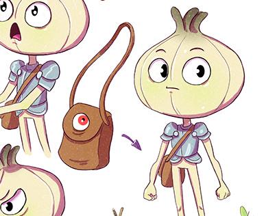The Kignt Onion_Design