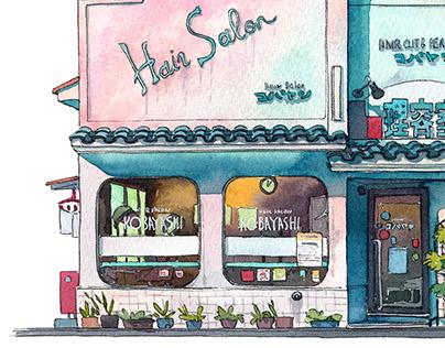 """Tokyo Storefront"" series"