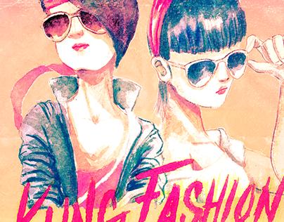 Kung Fury / Fashion Illustration