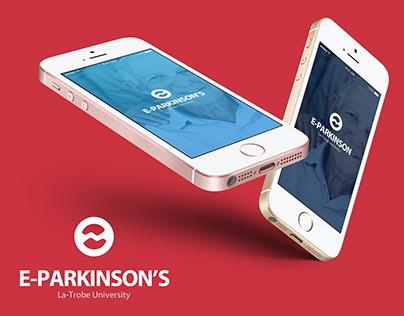 E-Parkinson App UI Design