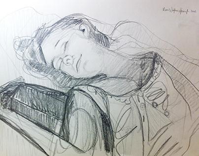 Śpiąca / Sleeping