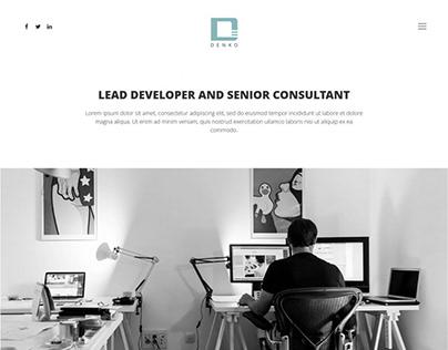 Denko WordPress Theme for freelancers