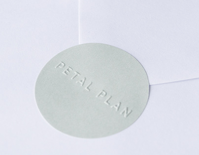 Petal Plan   Brand Identity, Print Collateral