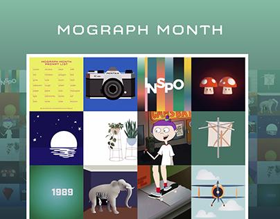MoGraph Month 2019