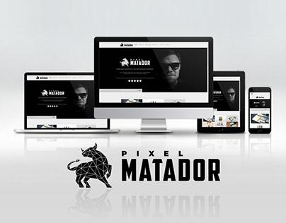 Pixel Matador Website (2020)
