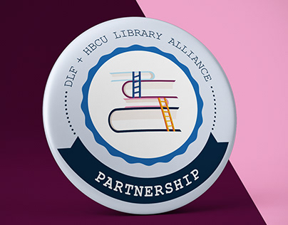 Badges and Poster for library alliance