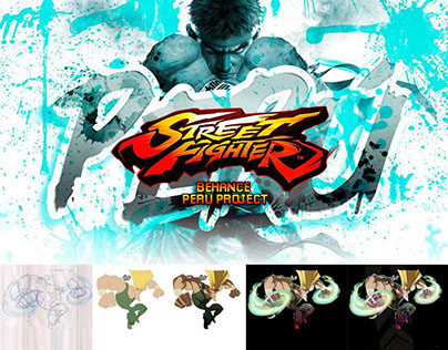 "GUILE ""Street Fighter - Behance Perú Project"""