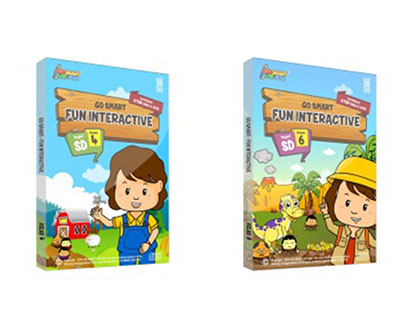 Interactive e-learning for elementary school.