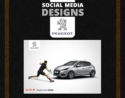 PEUGEOT Social Media Designs