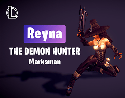 Reyna | League of Legends New Marksman | Concept