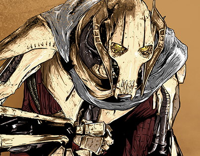 GENERAL GRIEVOUS - STAR WARS REVENGE OF THE SITH