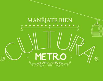 Manéjate bien, un manual para el Metro de Medellín