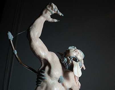 Zood Sculpey figure