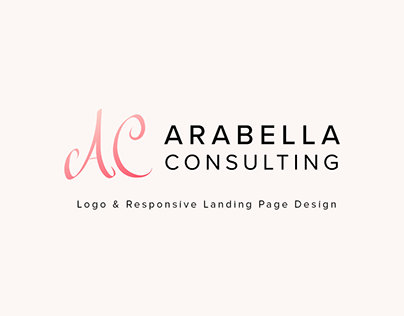 Logo & Responsive Landing Page Design Concept - Fashion