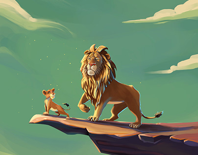 The King and The Cub