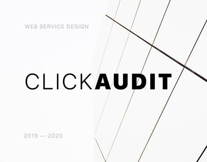 ClickAudit — Web Service Design