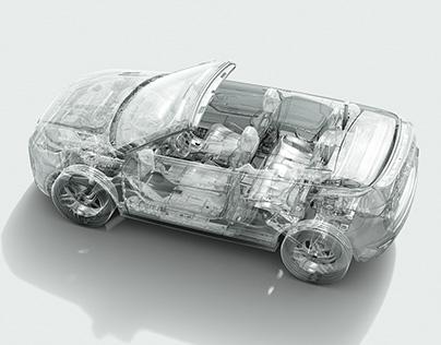 Ranger Rover Evoque Convertible CGI Stills