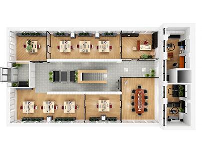 Office 3d planning