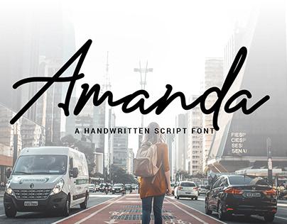 Amanda Signature - Free Font