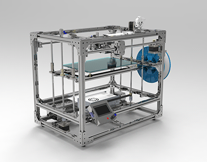 Development and assembly of 3D printers