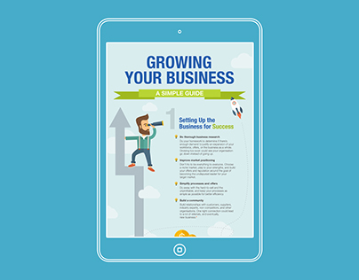 Infographic: Growing Your Business (A Simple Guide)