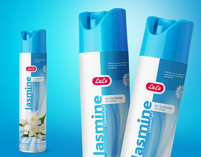 Air freshener packaging Design