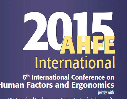 AHFE2015 Conference