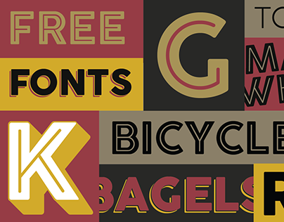 UPDATED: Cocogoose Free Font now with 52 weights