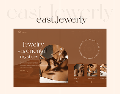 """PRESENTATION SITE CONCEPT """"east.Jewerly"""""""