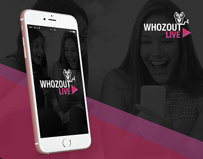 Whozout Live- Stream your Content with Friends