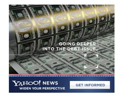 Yahoo Banner Ad