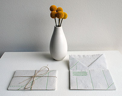 Releaf Sustainable Stationary: Graphic Design