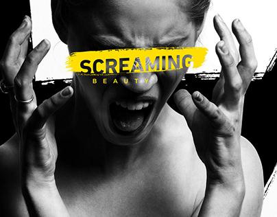 Twincare   Screaming Beauty   Logo Design