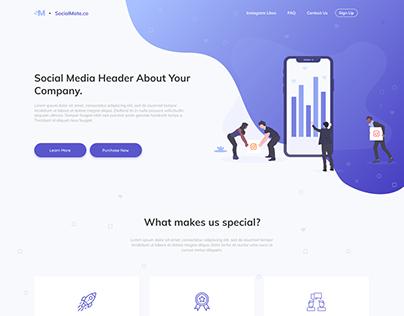SocialMate | UI/UX Project