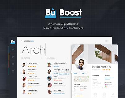 Business booster - social platform