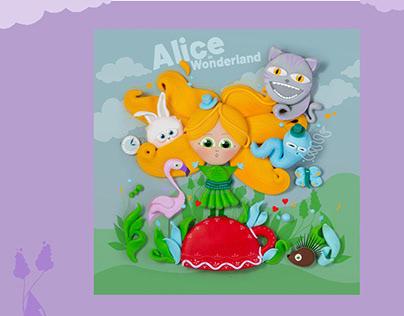 Alice in Wonderland - Illustration study