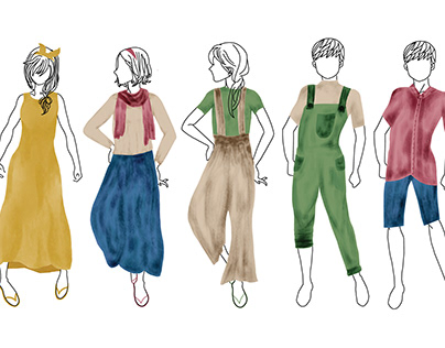 Design Process in Apparels: Mustard Clothing Line